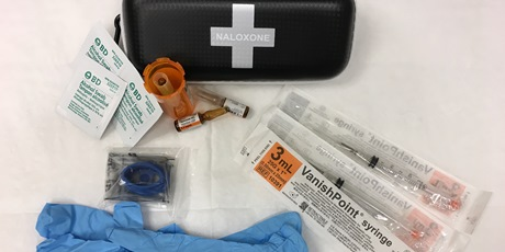Naloxone Kit Contents