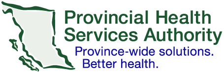 BC Provincial health Services Authority logo